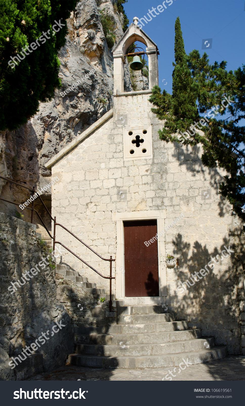 Church On Mount Marjan In Split  Dalmatia  Croatia Stock Photo 106619561   Shutterstock