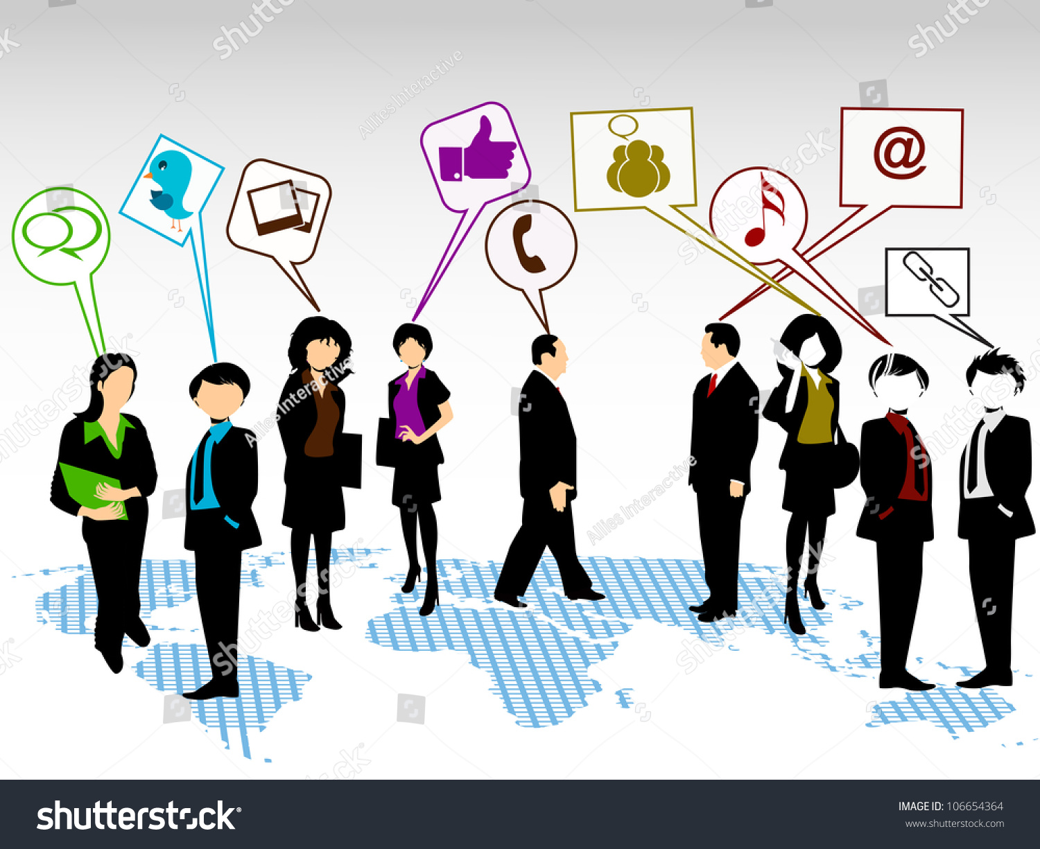 social networking 3d peoples connect social stock vector 106654364 social networking 3d peoples connect social network eps 10 social networking and social
