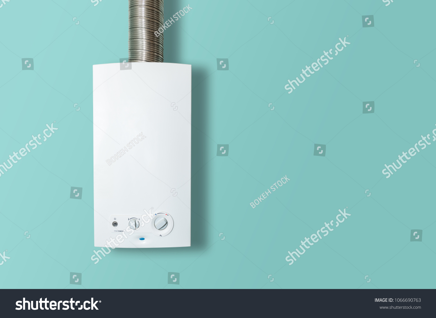 Modern Home Gas Boiler Water Heater Stock Photo (Edit Now ...