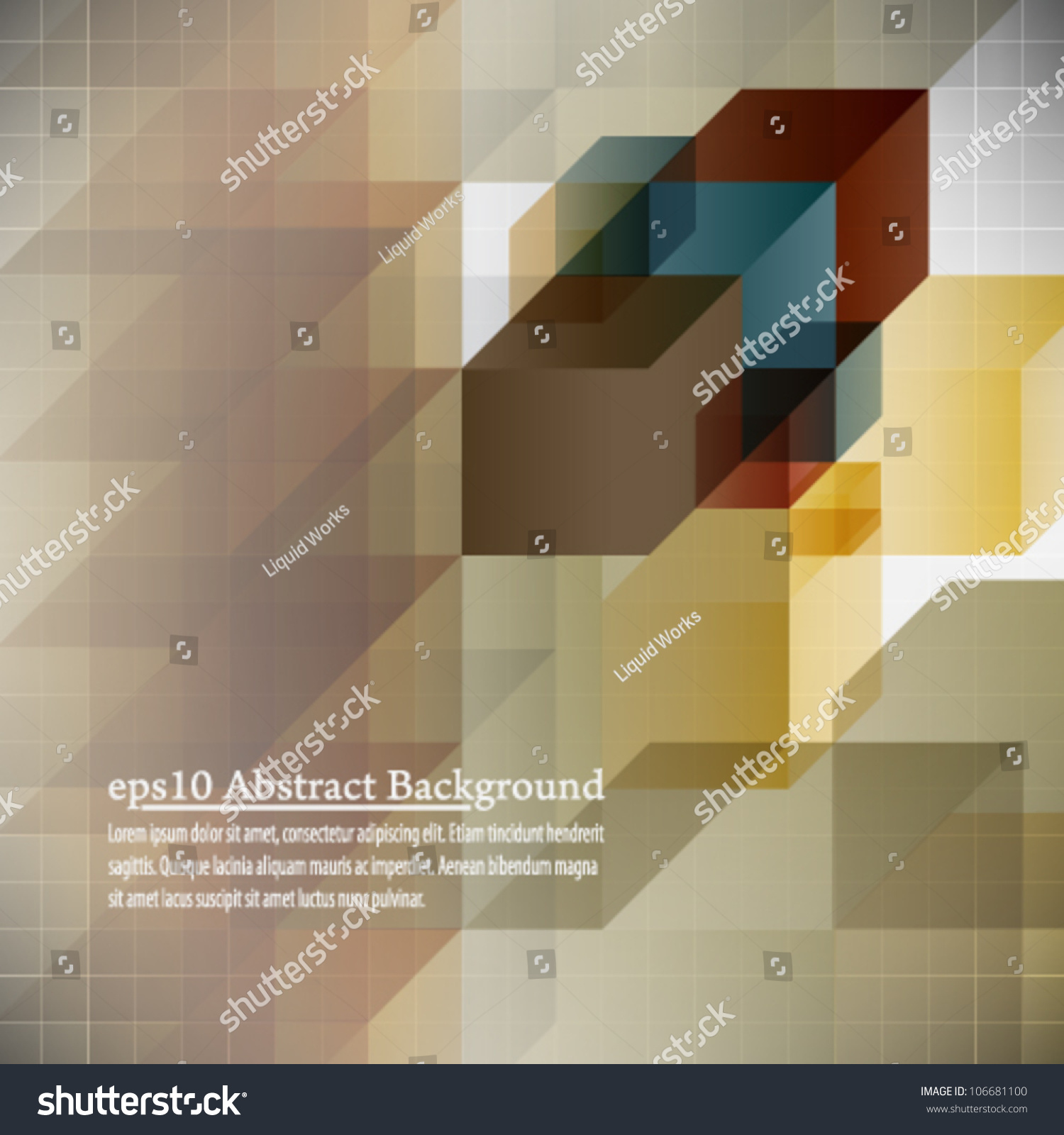 Book Cover Design Abstract : Eps abstract background book cover design stock vector