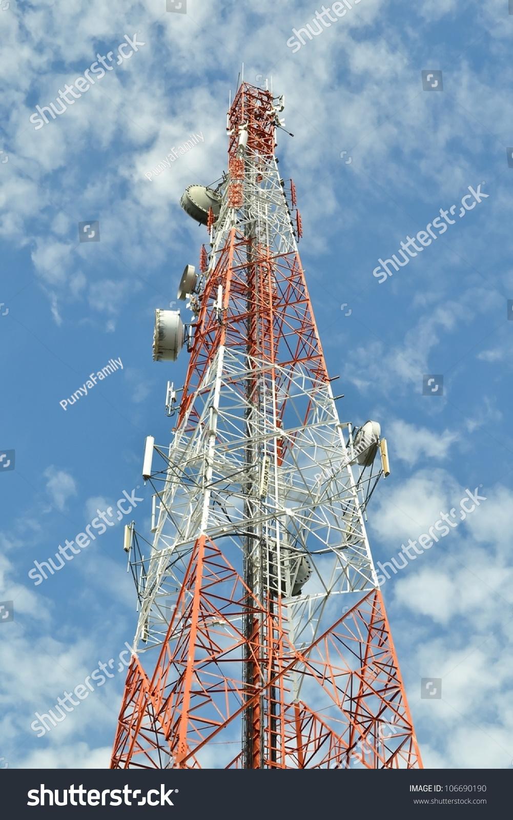Antenna Tower Communication Stock Photo (Edit Now) 106690190
