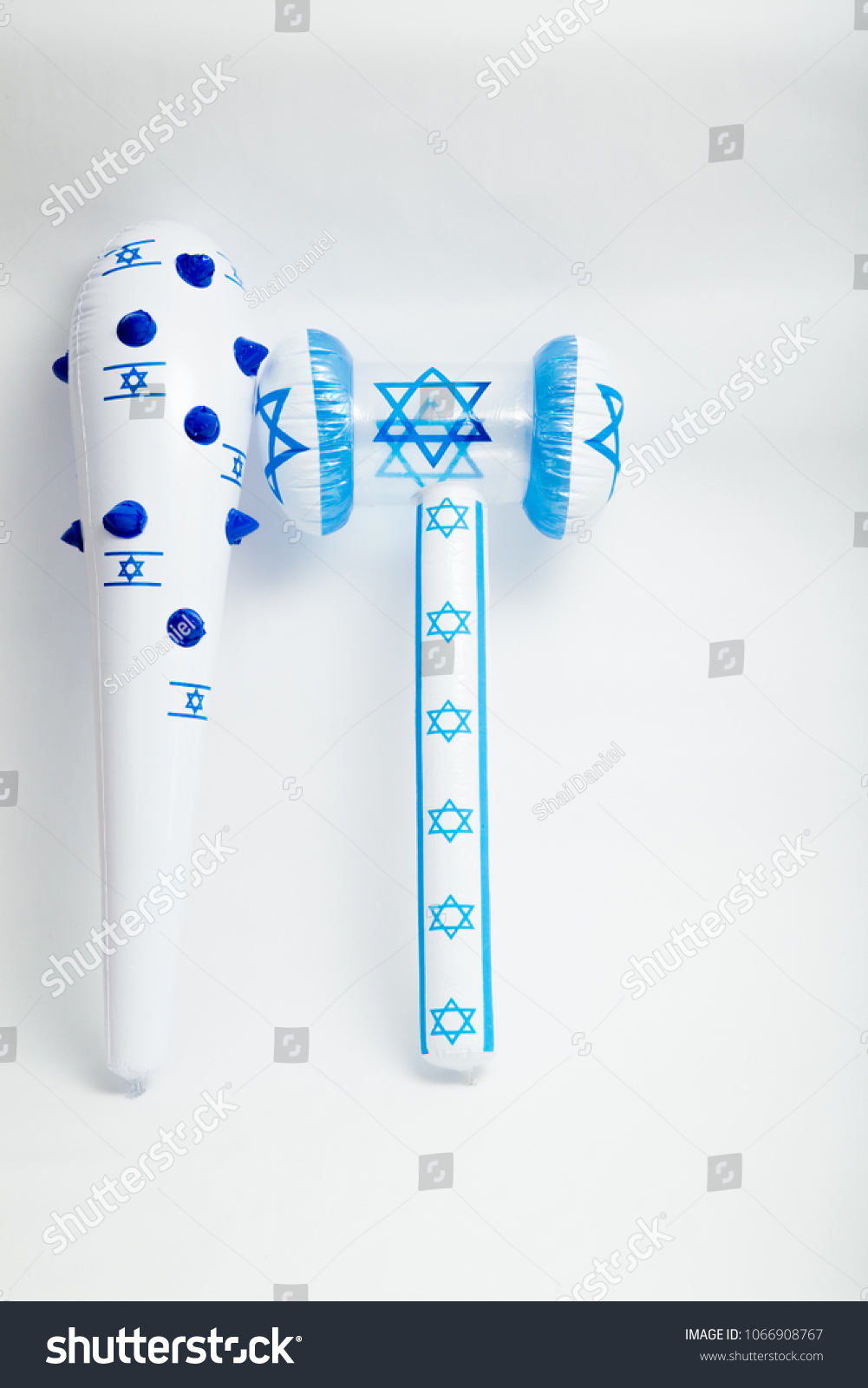 Israel Independence Day Toys National Symbols Stock Photo Edit Now