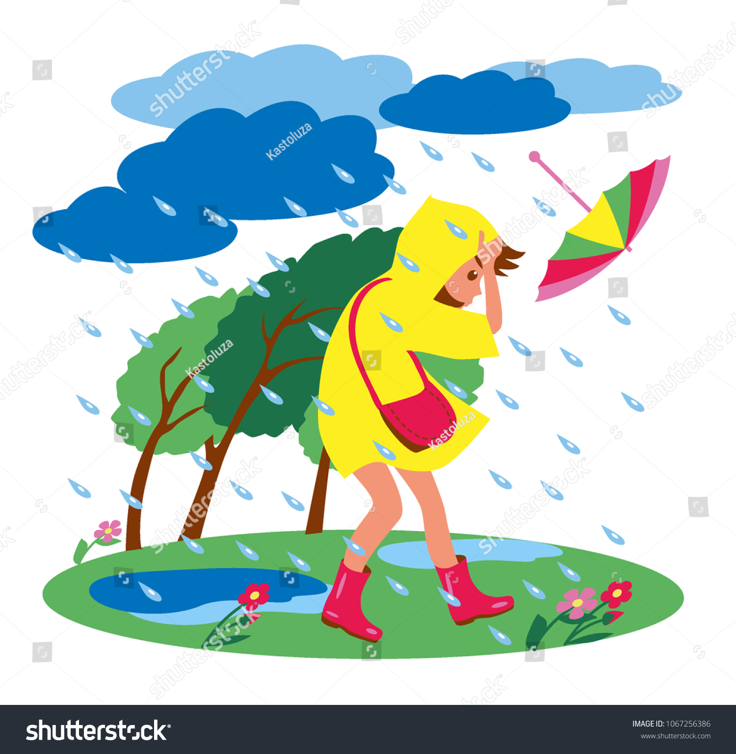 Weather Girl Clipart #77227 - Illustration by Rosie Piter