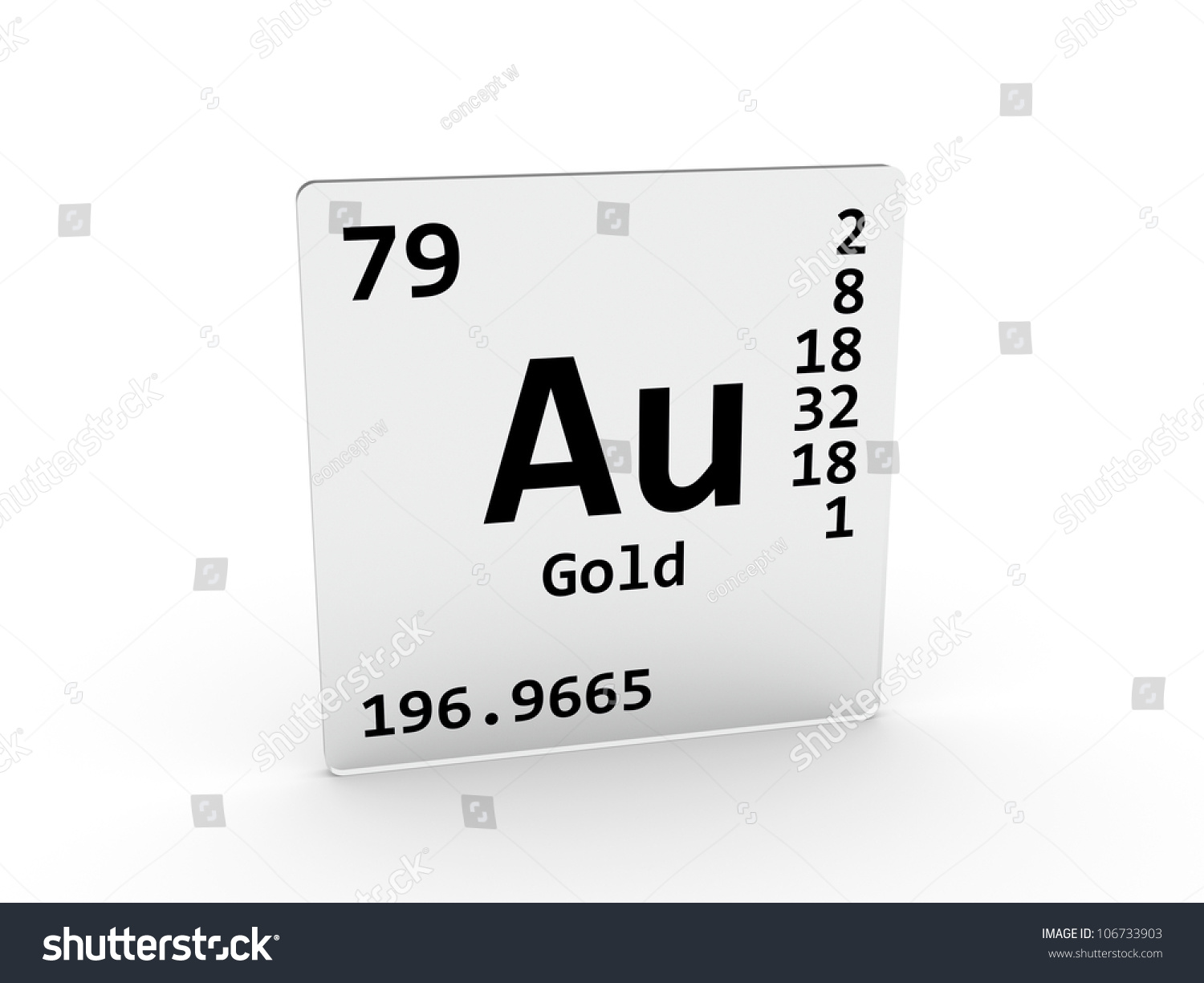 Gold symbol au element periodic table stock illustration 106733903 gold symbol au element of the periodic table urtaz Gallery