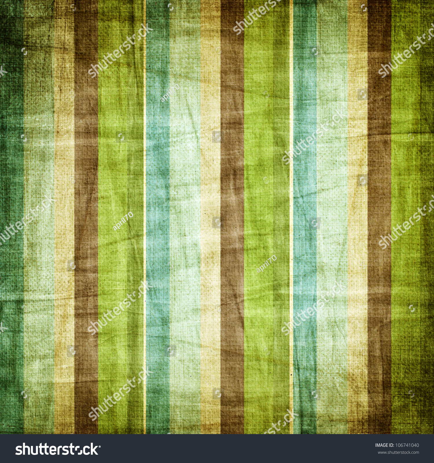 vintage brown blue green shabby colored stock illustration
