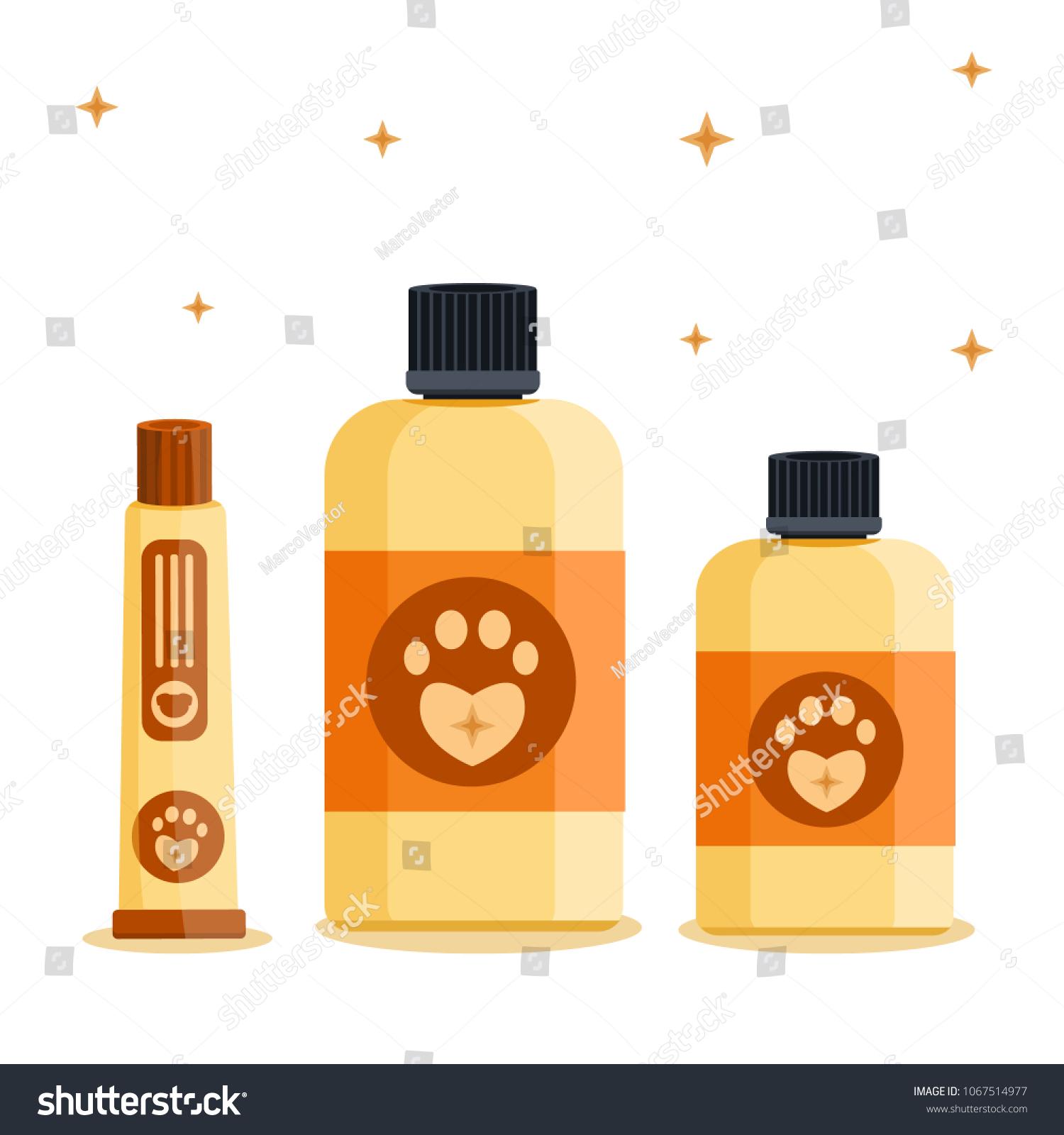 Luxury Rich Cute Biege Vintage Retro Stock Vector Royalty Free Lampu Salon Barber Grooming Beauty Saloon Shop Dog Pet Cat Animal Tracks Barbershop