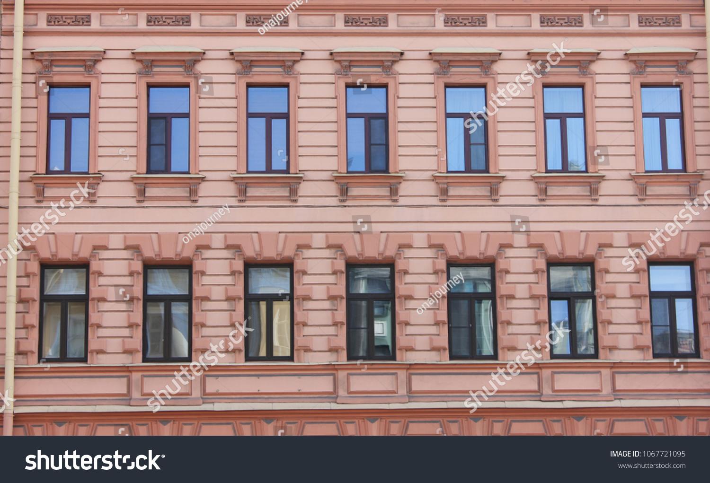 Classic Architecture Building Ornament Facade Old Stock Photo (Edit ...