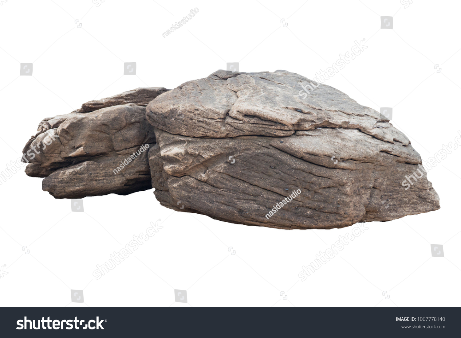 rock isolated on white background  #1067778140