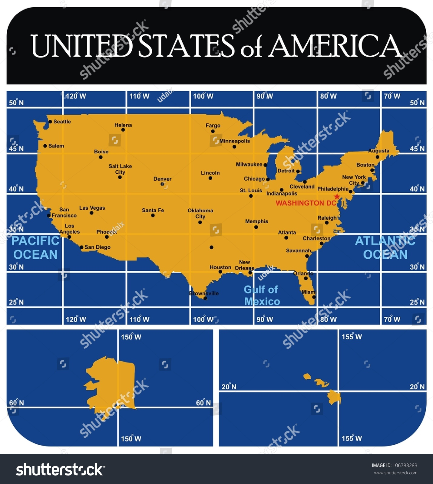 Map Of Us With Major Cities Eclipse Maps - Usa map with major cities