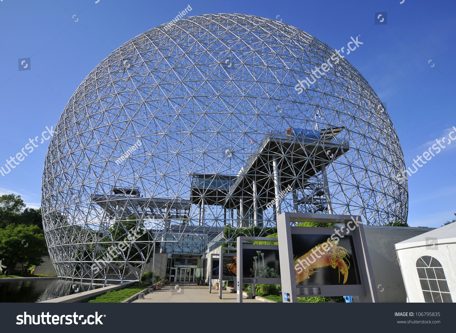 how to get to the biosphere montreal