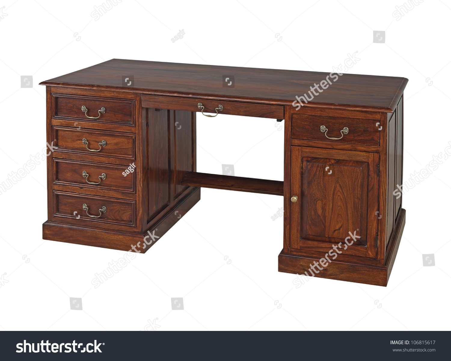 antique wooden office desk isolated on white background preview save to a lightbox antique office table