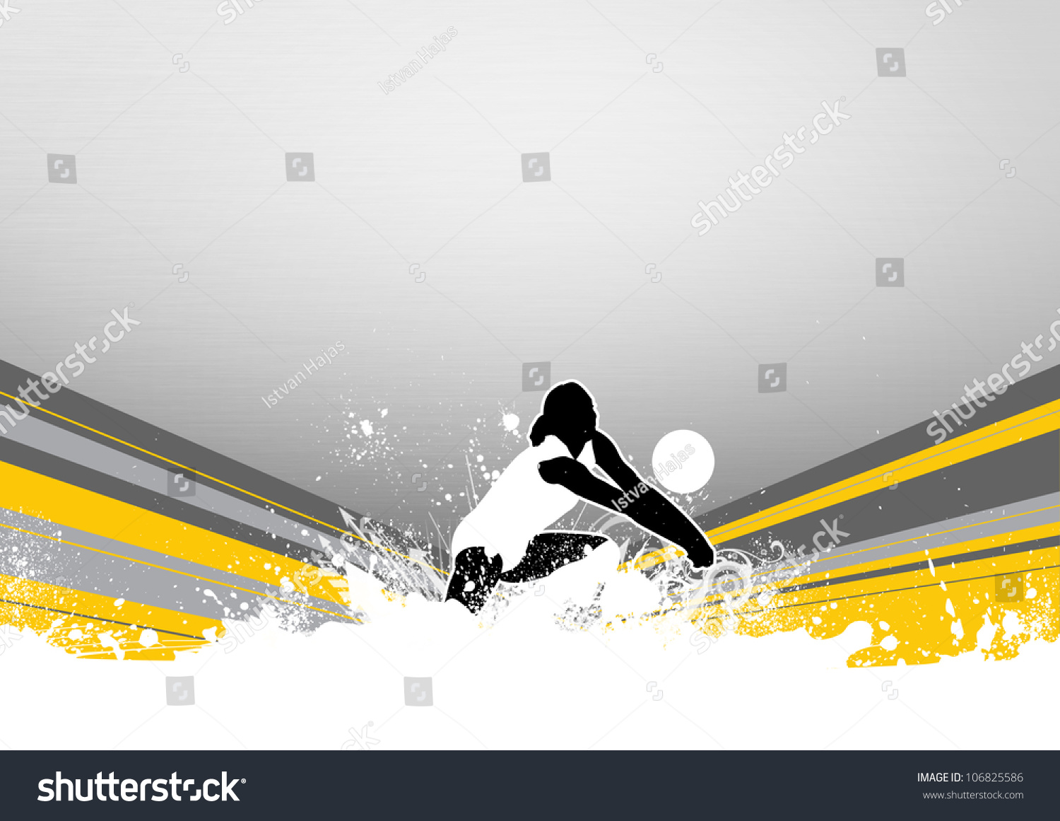 Abstract Grungy Background Volleyball Arrowhead Stock: Abstract Grunge Color Volleyball Background Space Stock