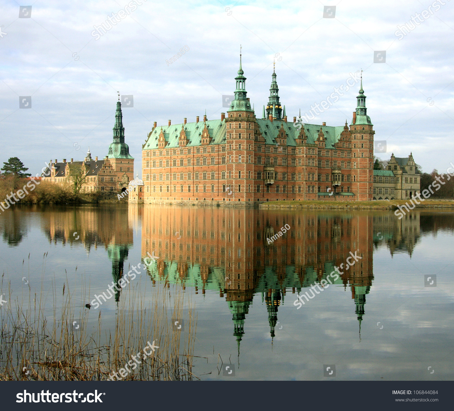 The museum of national history at frederiksborg castle copenhagen - Frederiksborg Castle It Was Built As A Royal Residence For King Christian Iv And