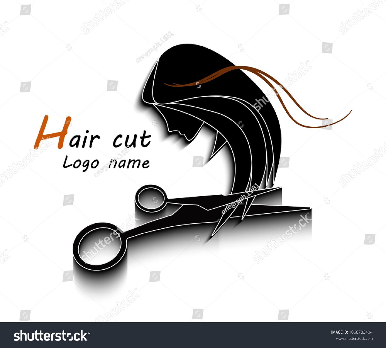 Logo Name Symbol Beauty Salons Hairdresser Stock Vector Royalty