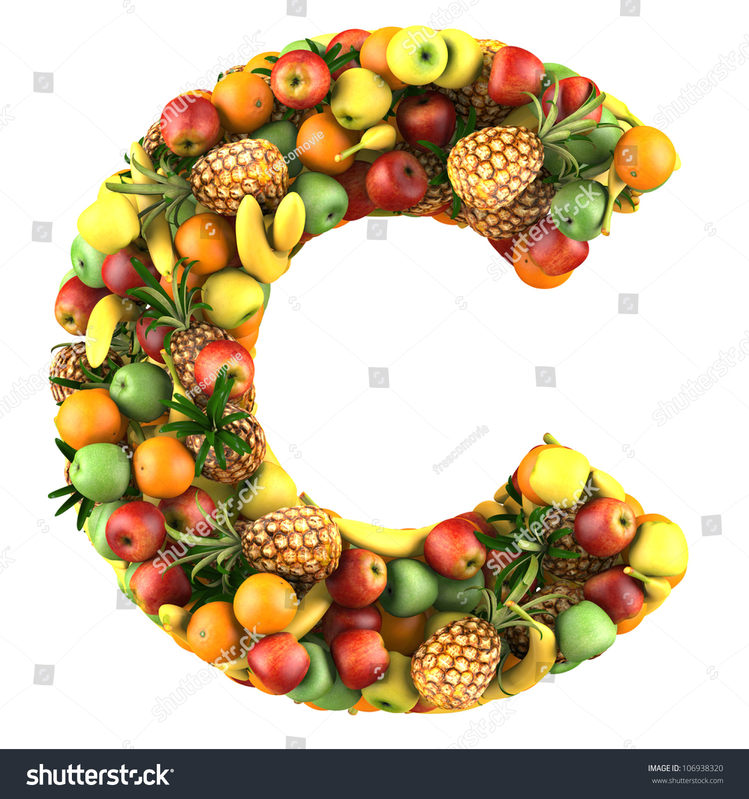 Citrus Fruit  Letters