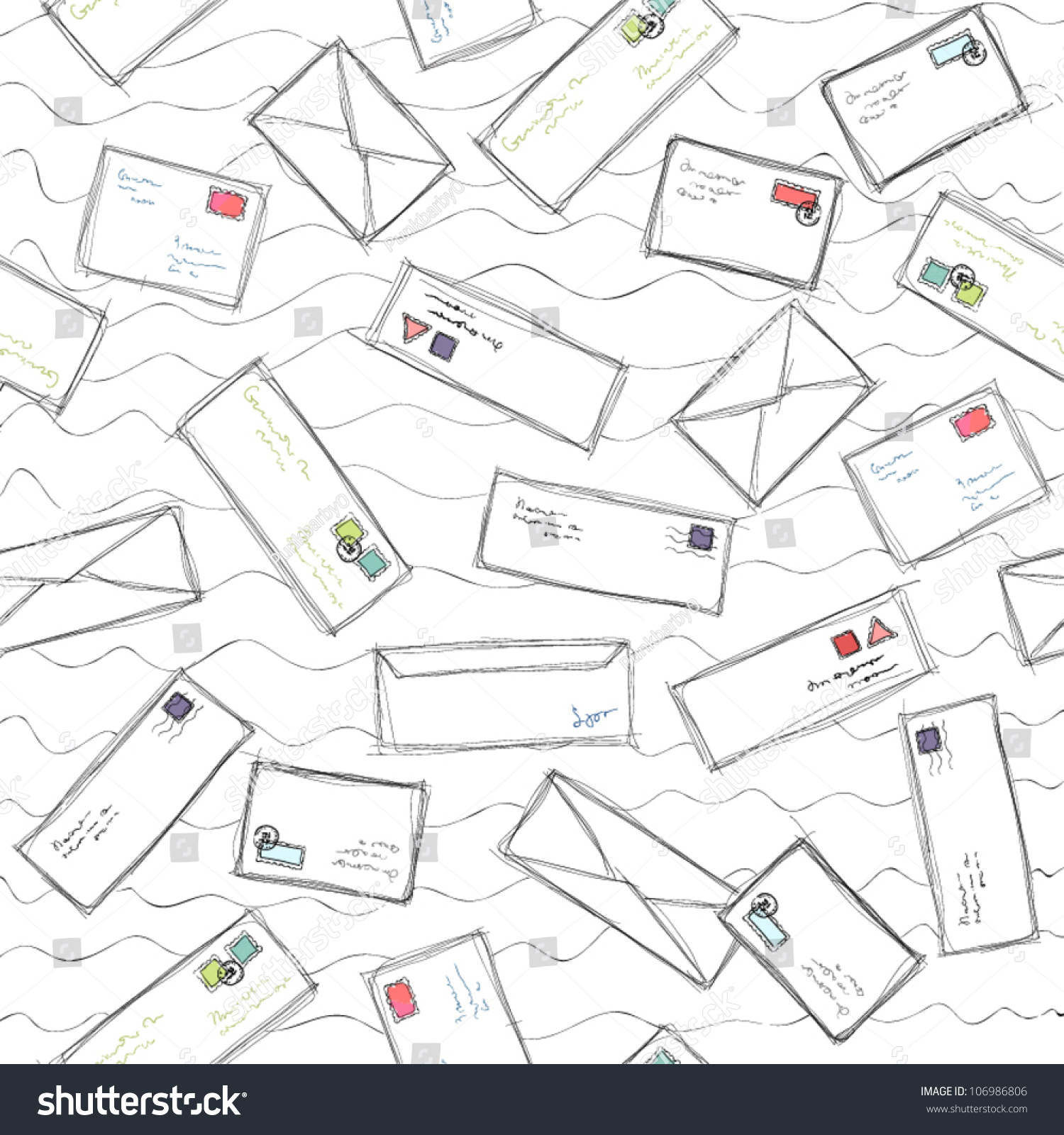 blog image metered mail large size mail many letters and