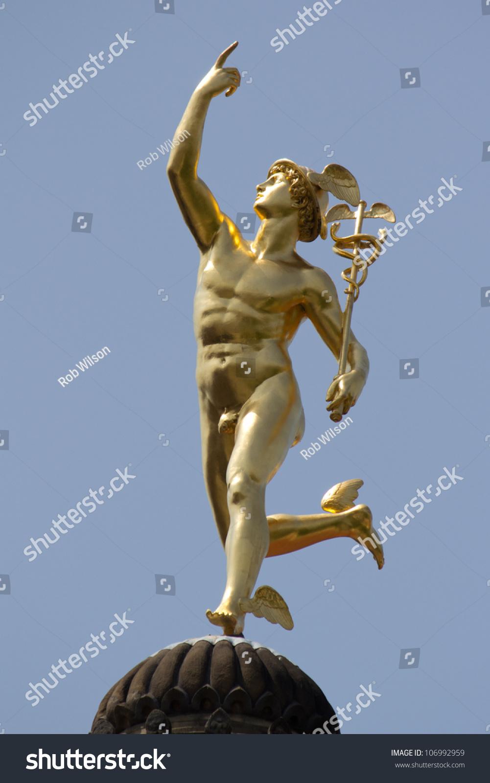 Stuttgart Germany June 30 Statue Roman Stock Photo ...
