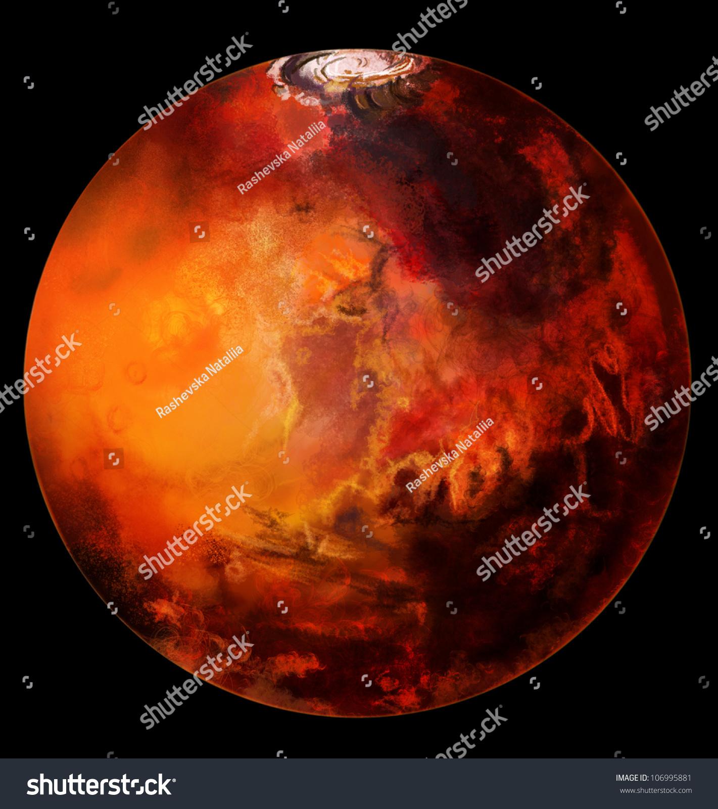 mars planet graphs - photo #9