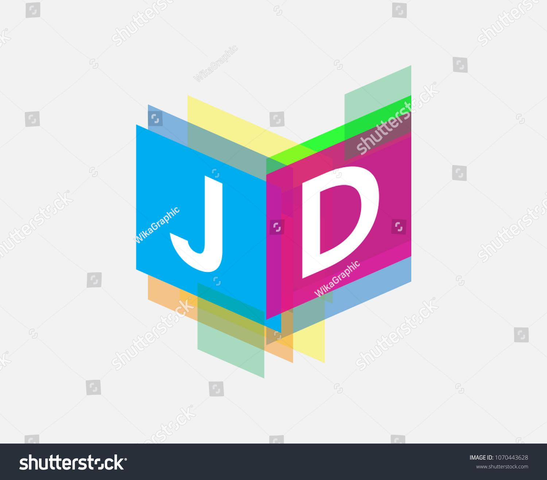 letter jd logo colorful geometric shape stock vector royalty free 1070443628 https www shutterstock com image vector letter jd logo colorful geometric shape 1070443628