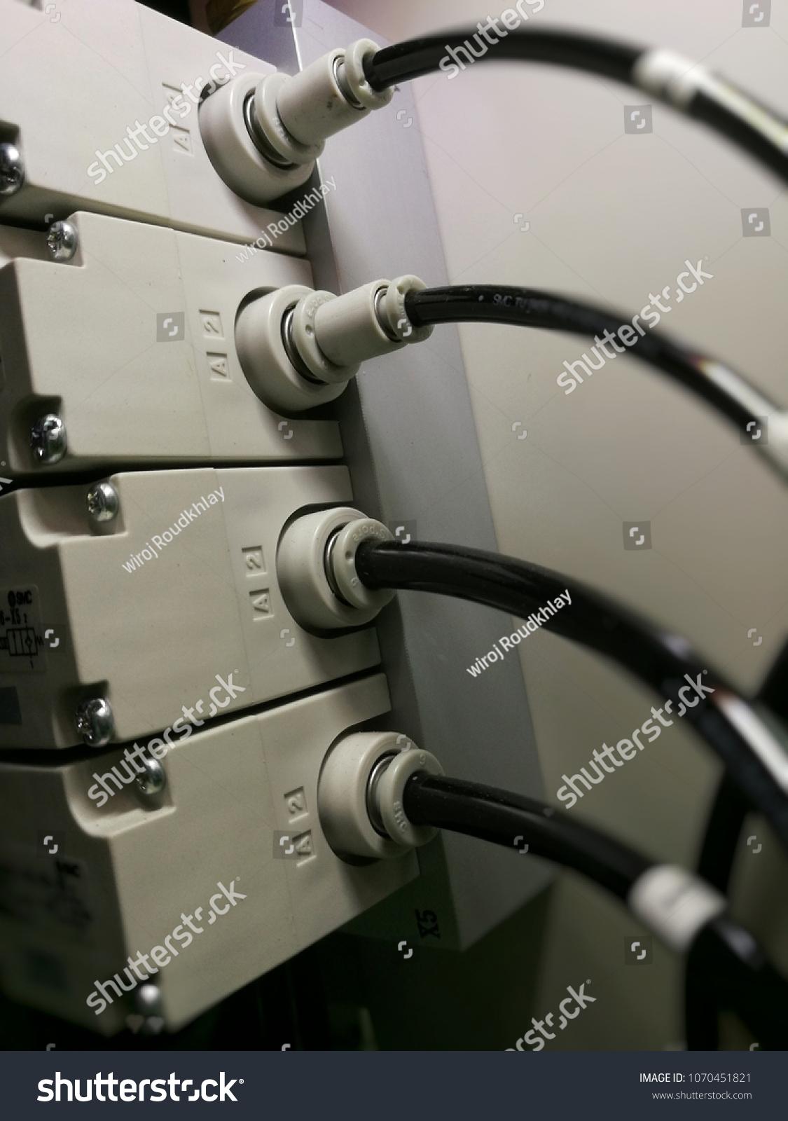 Solenoid Valve Machinery Stock Photo (Edit Now) 1070451821
