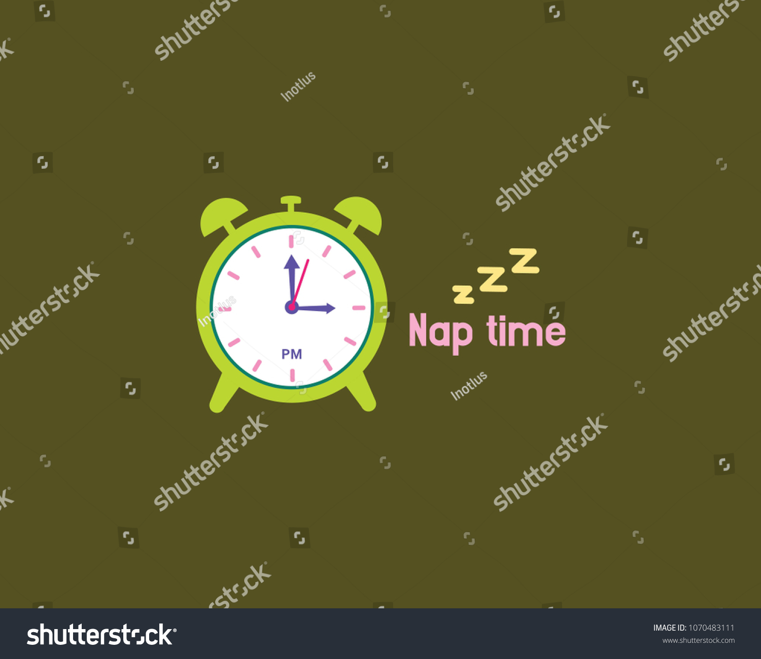 Schedule Daily Activities Design Template Stock Vector Royalty Free