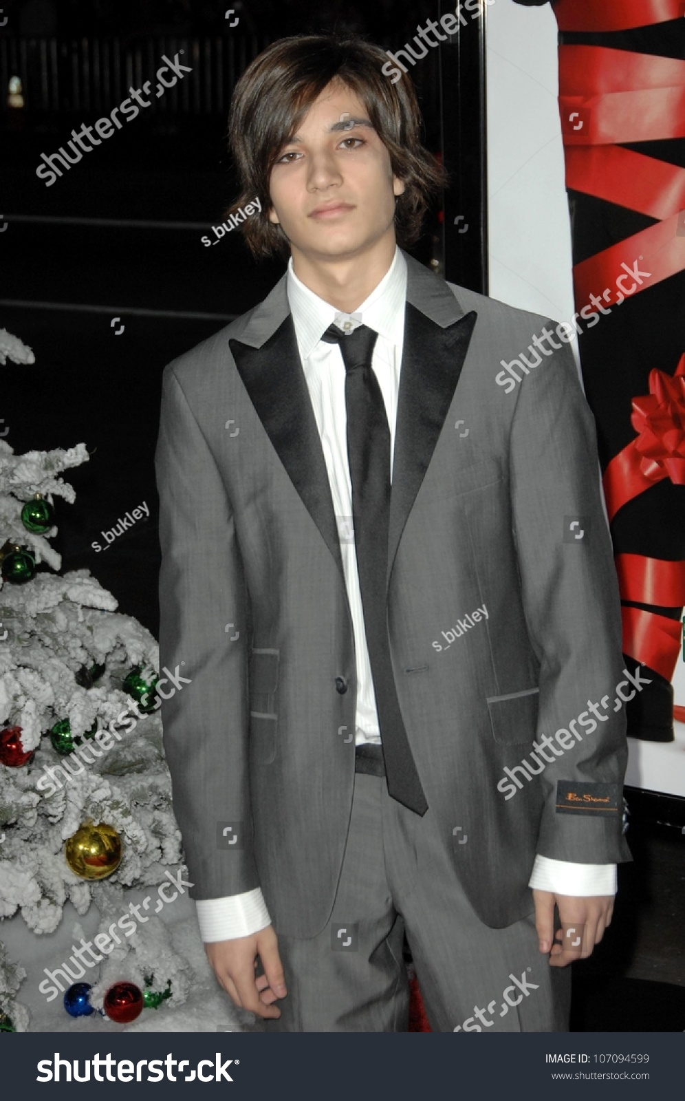 Taylor Boggan World Premiere Four Christmases Stock Photo ...  Taylor