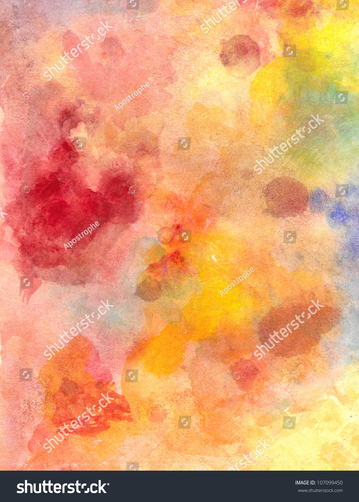 abstract watercolor background paper design bright stock illustration 107099450 shutterstock. Black Bedroom Furniture Sets. Home Design Ideas