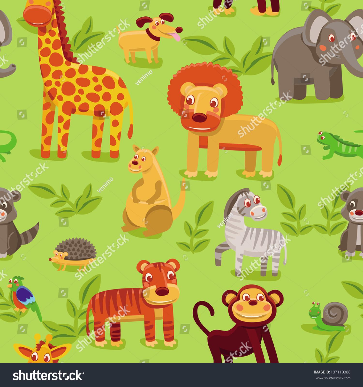 cartoon jungle