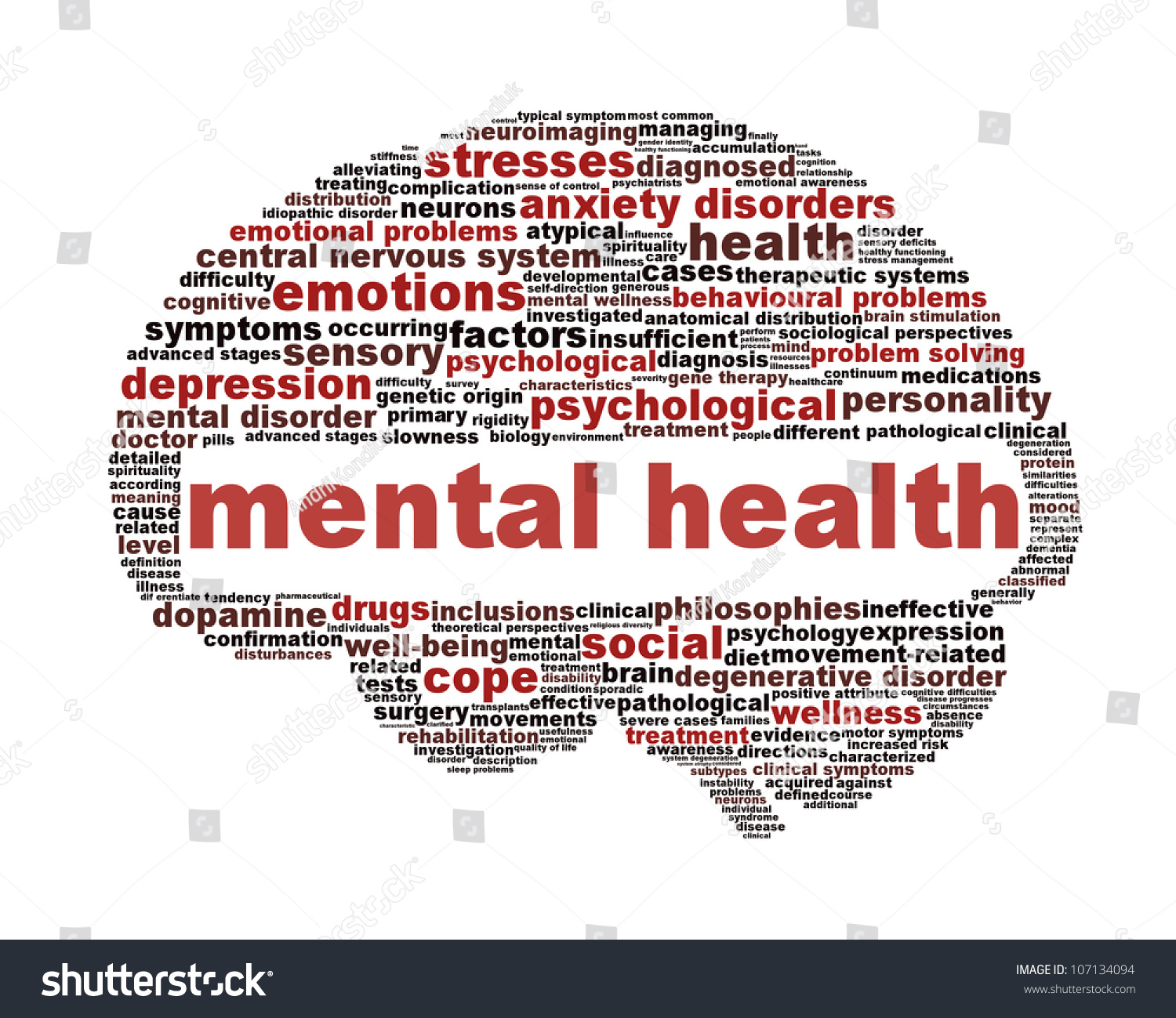 Mental health symbol isolated on white stock illustration mental health symbol isolated on white psychological symbol design biocorpaavc Gallery