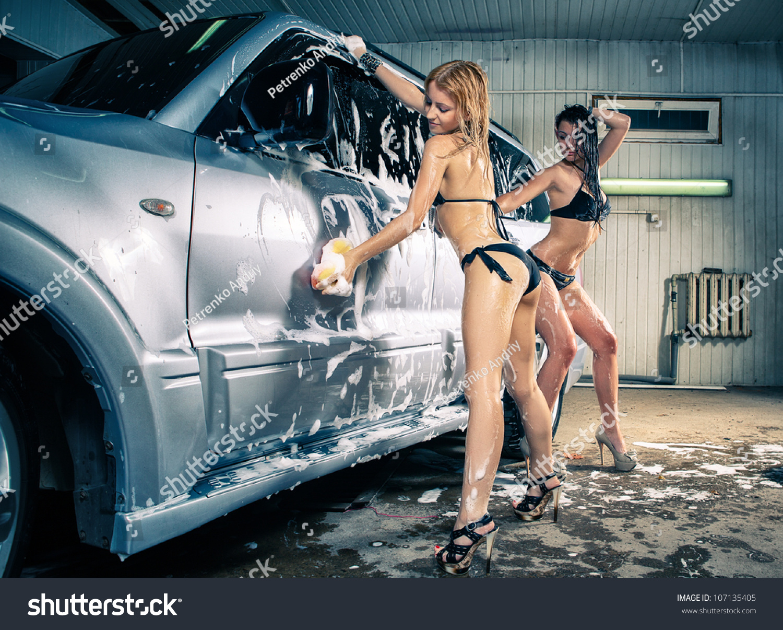 Работница автомойки порно 19 фотография