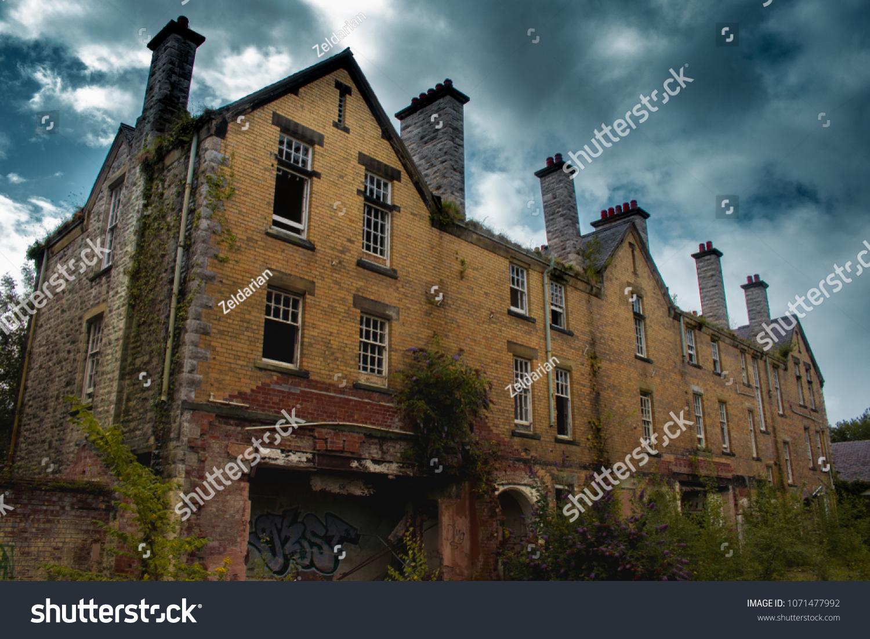 Abandoned Asylum Wales Stock Photo Edit Now 1071477992