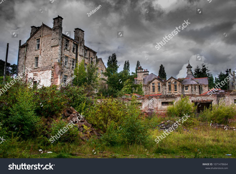 Abandoned Asylum Wales Stock Photo Edit Now 1071478664