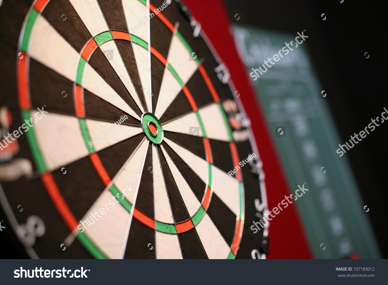 Dart Board Cabinet With Chalkboard A Professional Dart Board With A Slate Chalkboard In The