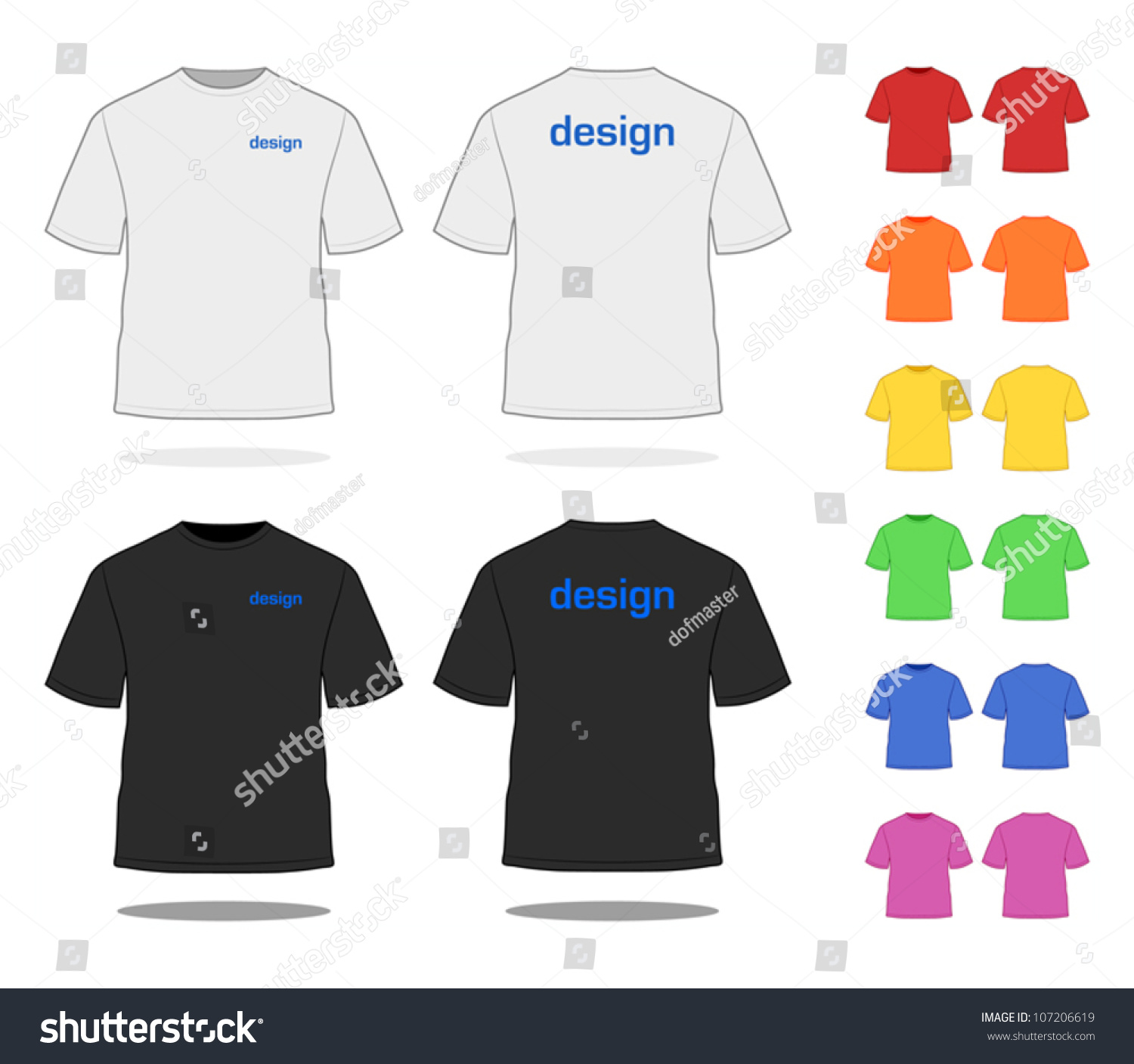 Design t shirt easy - Design T Shirt Easy T Shirt In Various Colors Simple Vector Easy To Adjust See
