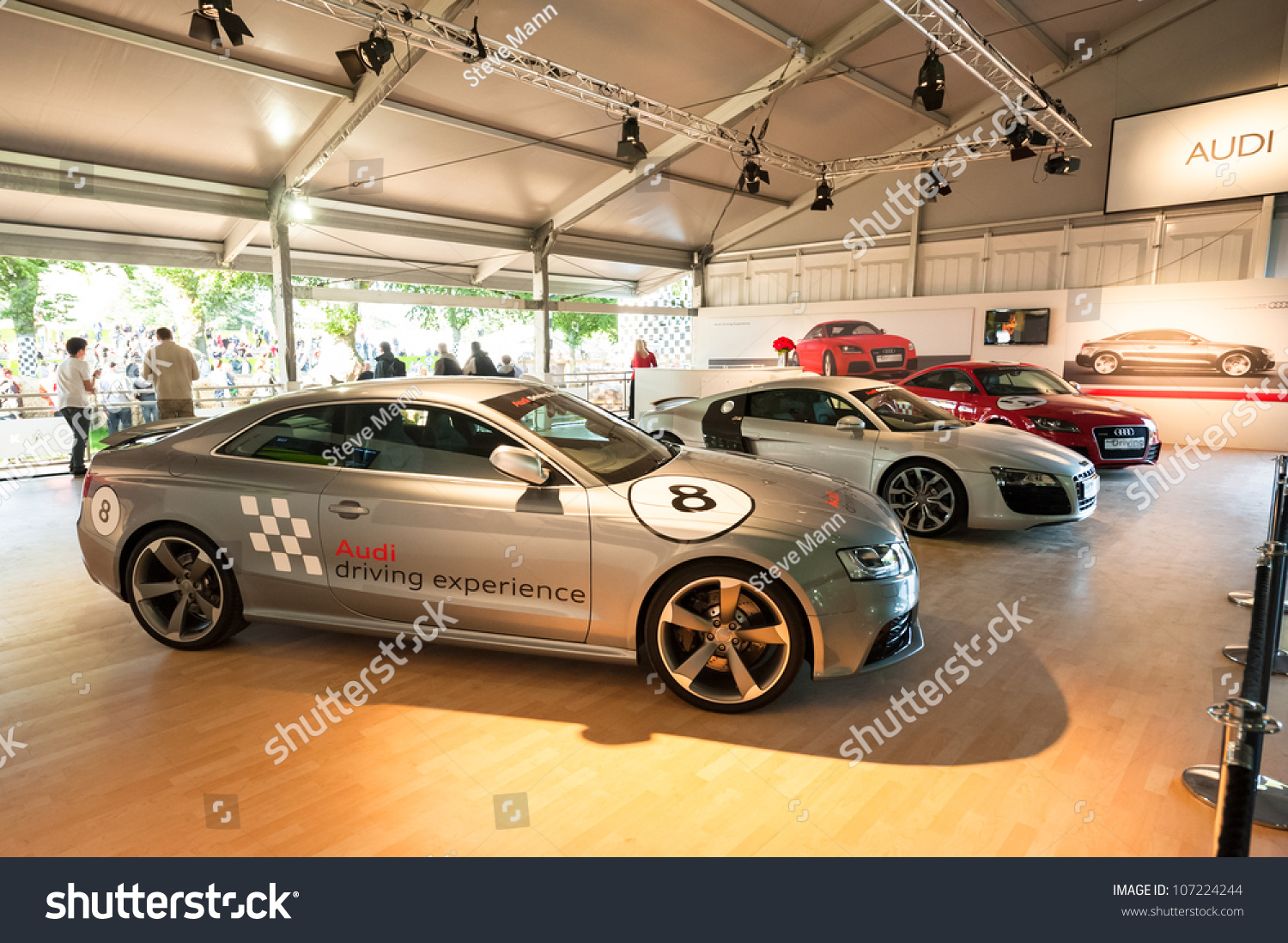 Goodwood Uk July 1 Collection Audi Stock Photo Edit Now 107224244