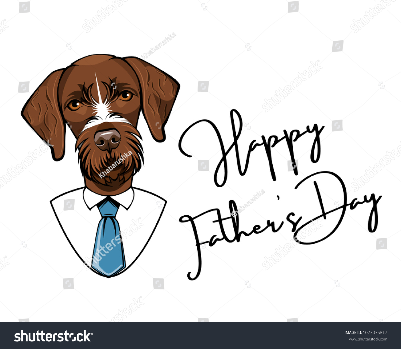 German Shorthaired Pointer Tie Mens Dog Breed Neck Tie