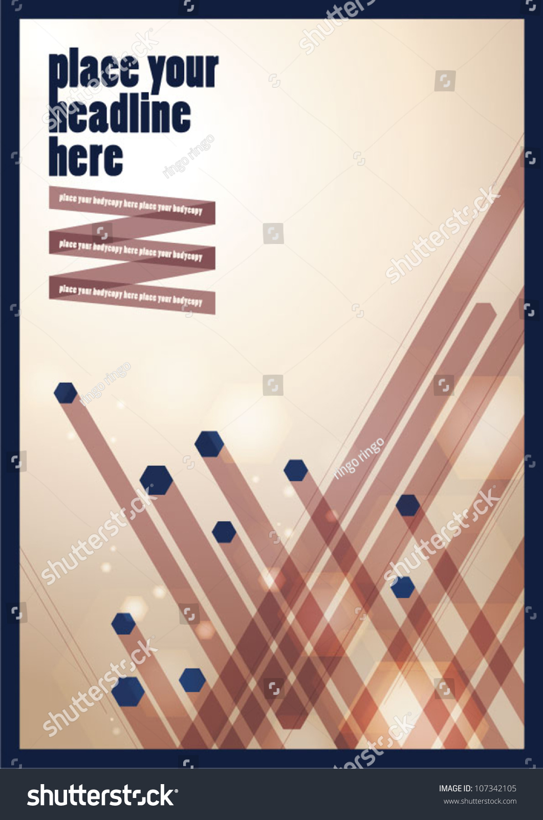 Abstract Book Cover Background : Abstract background vector lay out design book cover