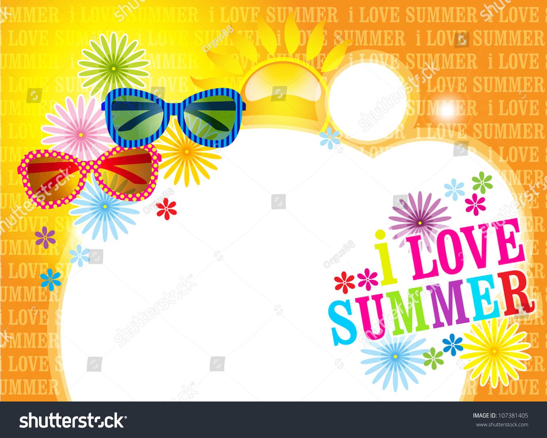 Backgrounds for twitter summer