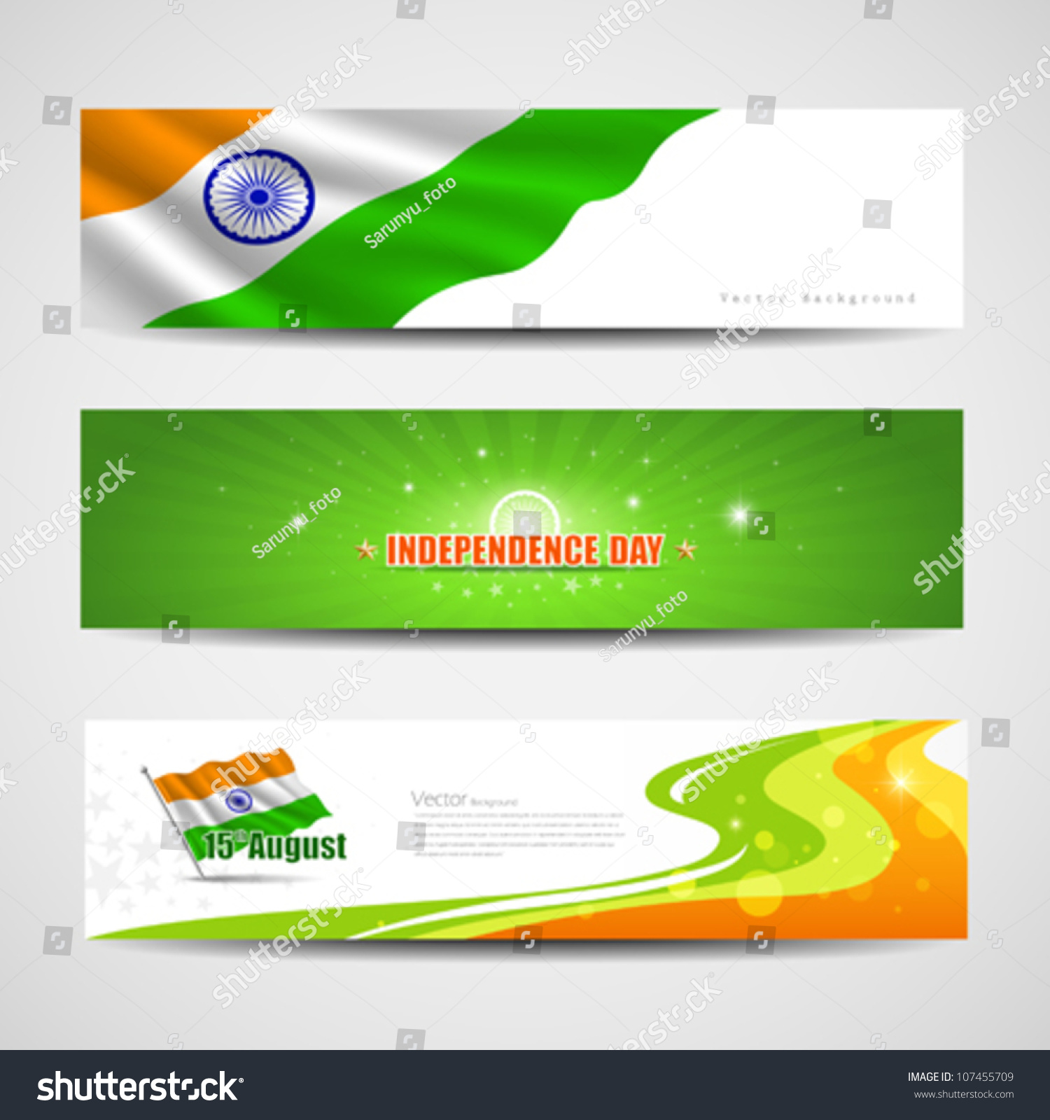Happy Independence Banners Pets Banners