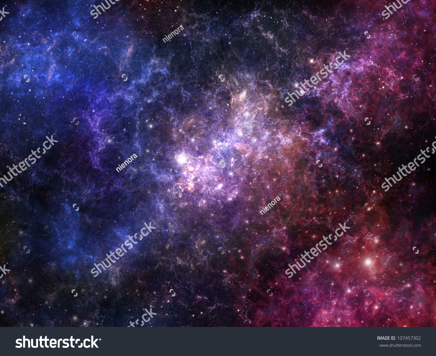 Colorful Nebula In Deep Space wallpapers