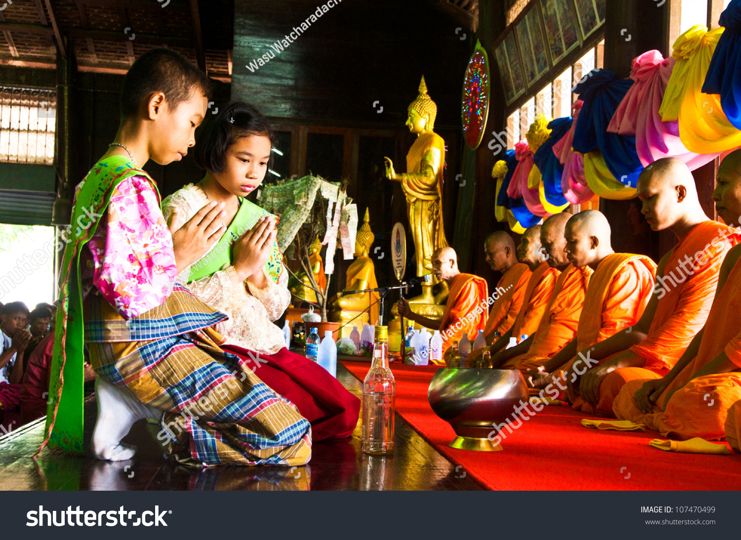 Samut Sakhon Thailand  city pictures gallery : SAMUT SAKHON,THAILAND SEPT 23:Unidentified thai children in native ...