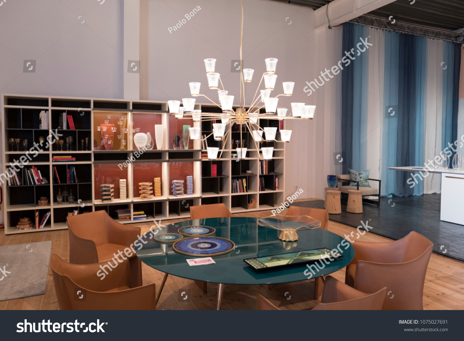 MILAN ITALYAPRIL 17 2018 Interior Italian Stock Photo (Edit Now ... 3c9e53189914