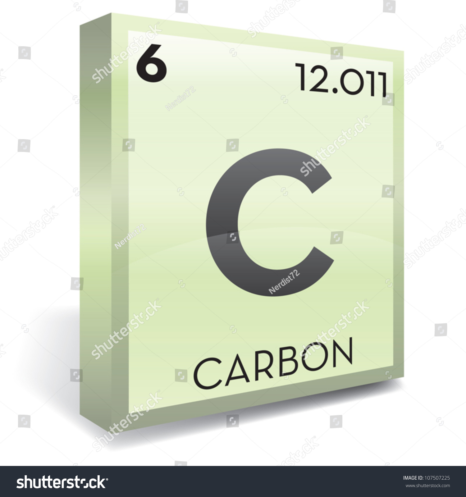 Carbon element periodic table stock vector 107507225 shutterstock carbon element periodic table gamestrikefo Gallery