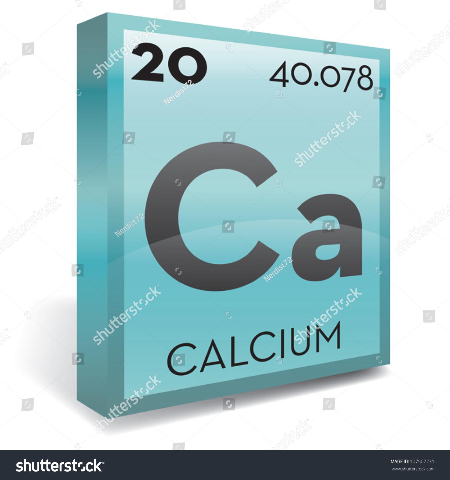 Calcium element periodic table stock vector 107507231 shutterstock calcium element periodic table gamestrikefo Images