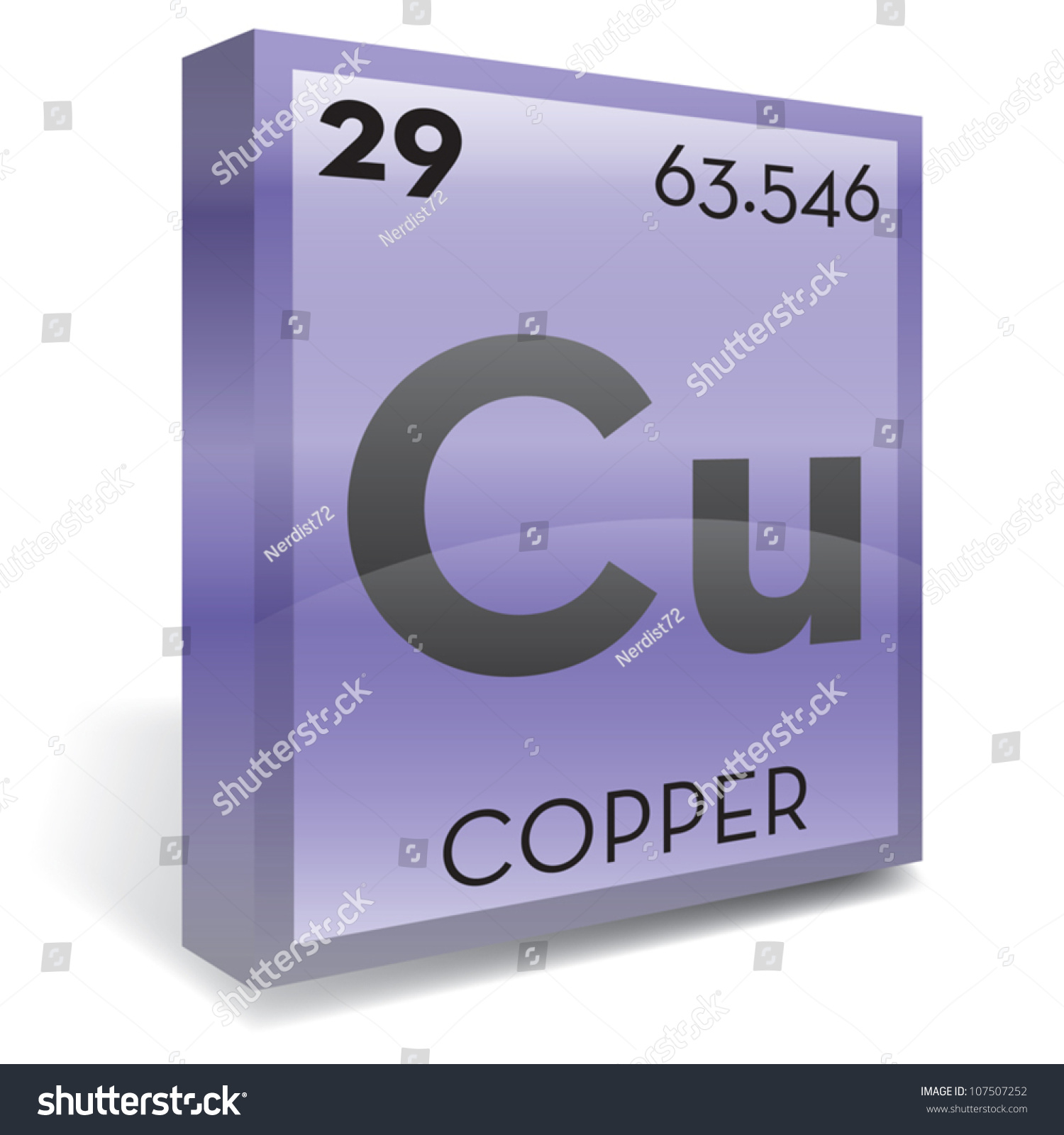Copper element periodic table stock vector 107507252 shutterstock copper element periodic table gamestrikefo Choice Image