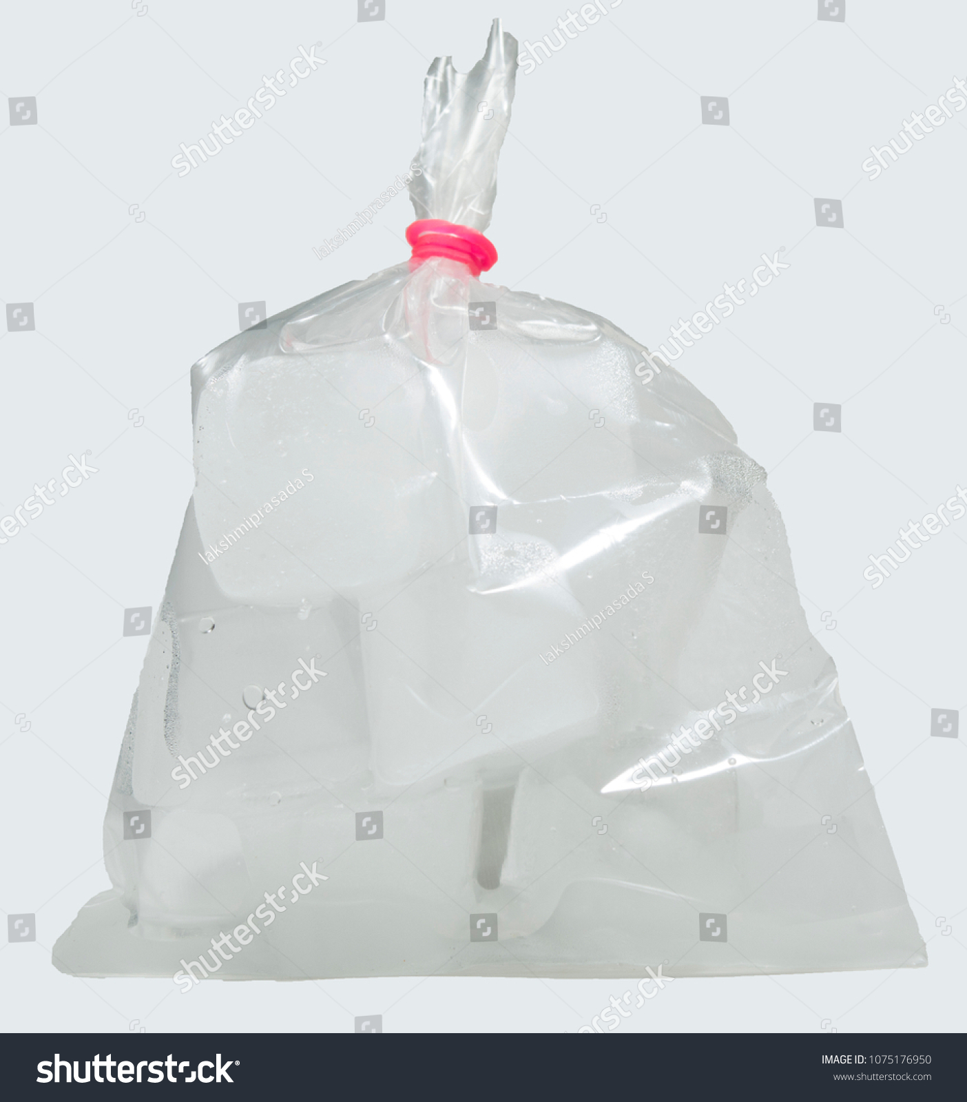 Disposable Ice Cube Bag 100 Pack 2400 Ice Cubes 100 Bags Free Shipping