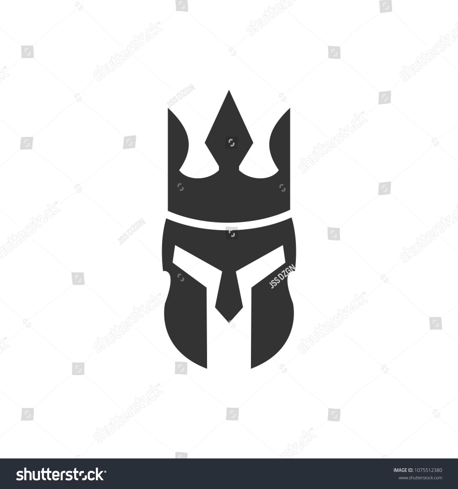 Crown Symbol King Icon Empire Logo Stock Vector (Royalty