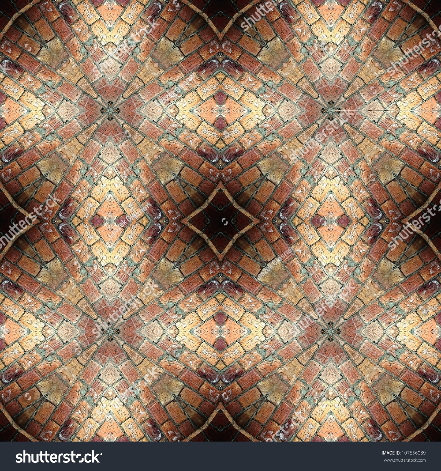 Seamless Brick Pattern, Aged Floor Tiles To Use As Wallpaper, Surface Texture, Web Page ...