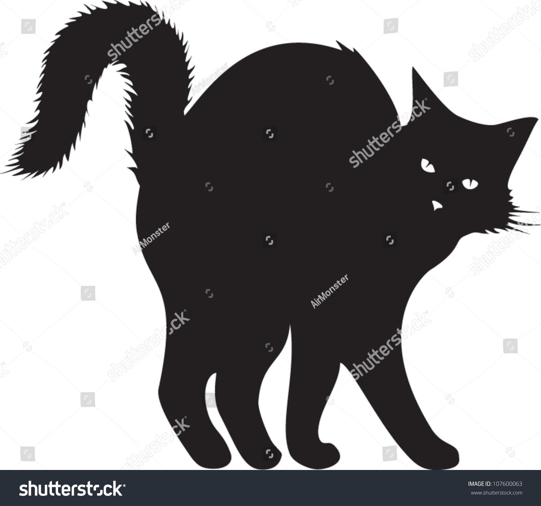 black cat vector cristiano - photo #26