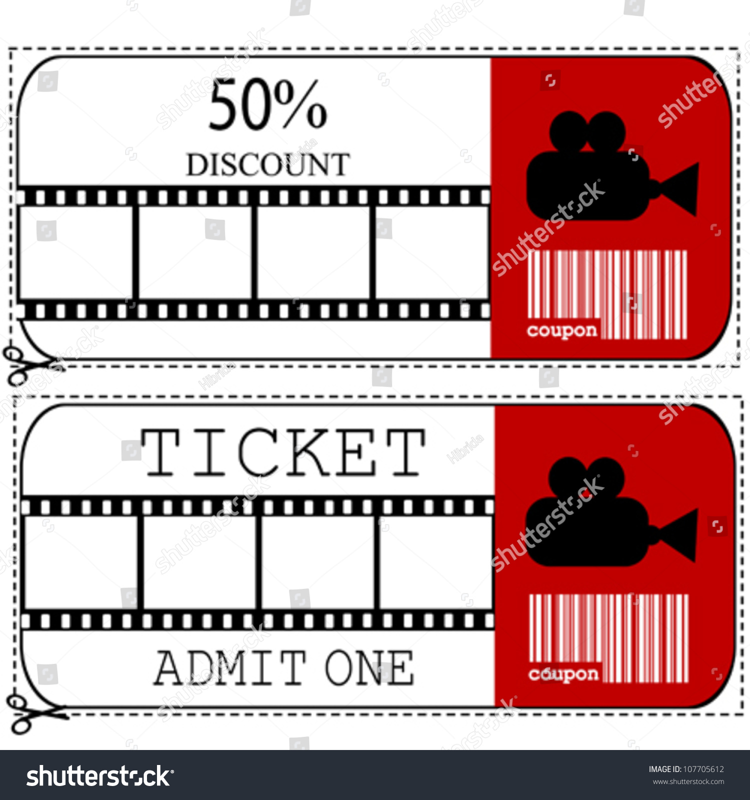 Ausgezeichnet Druckbare Film Ticket Vorlage Galerie - Entry Level ...